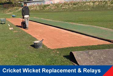 Cricket Wicket Replacement & Relays
