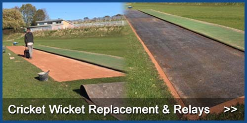 Cricket Wicket Repairs & Refurbishment