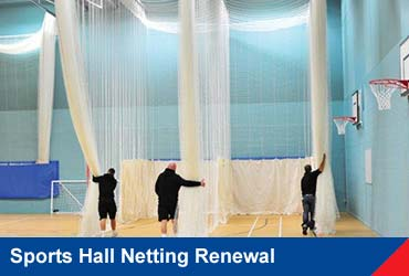 Sports Hall Netting Renewal