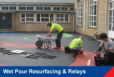 Wet Pour Resurfacing & Relays